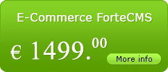 e-commerce ForteCMS