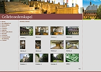 Web site for the church Cellebroederskapel, Maastricht